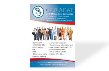 Locandina CAF ACAI Sermoneta
