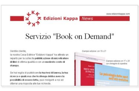 Mailing Edizioni Kappa