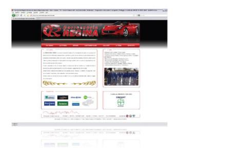Sito web Carrozzeria Regina