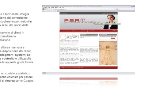 Sito web FEA Tecnology