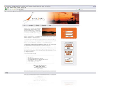 Sito web Sail 2 Sail