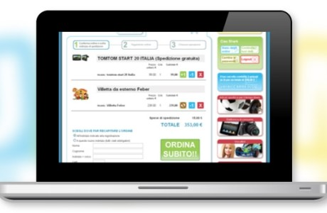 Sito web UAAM e-commerce