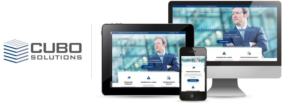 Brdesign soluzioni web e grafiche cubo solutions for Logo sito web